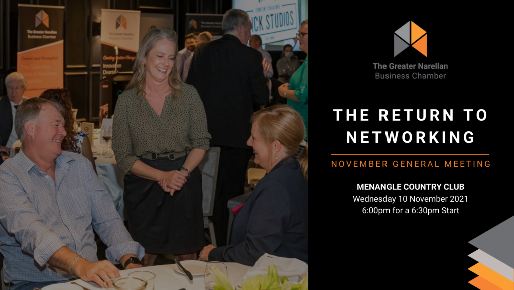 The Return to Networking November 2021 General Meeting