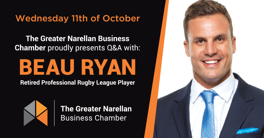 The Greater Narellan Business Chamber | General Meeting | October - Beau Ryan